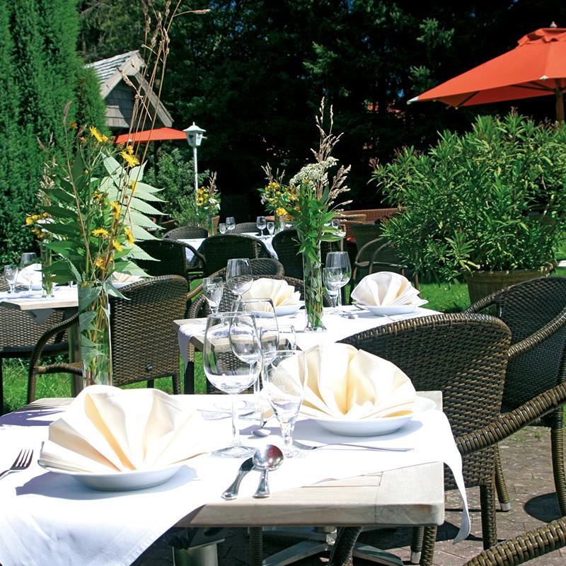 terrasse garten hotel restaurant taufstein. Black Bedroom Furniture Sets. Home Design Ideas
