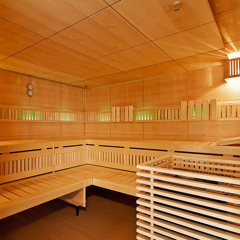 Taufstein Sauna